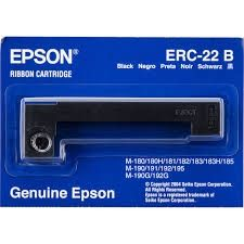 EPSON Ribbon original Ribbon ERC-22B  M-180/190 black (C43S015358) Ribbon ERC-22B  M-180/190 black (C43S015358)
