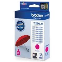 BROTHER Ink original Ink Cart.LC-225XLM high capacity  MFC-J4420DW/J4620DW MFC-J5320DW/5620DW/J5625DW/ 5720DW magenta Ink Cart.LC-225XLM high capacity  MFC-J4420DW/J4620DW MFC-J5320DW/5620DW/J5625DW/ 5720DW magenta