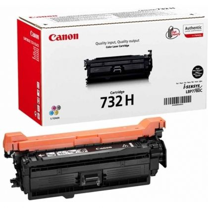 CANON Toner cartridge original Cart. 732H BK  LBP7780 black (6264B002) Cart. 732H BK  LBP7780 black (6264B002)