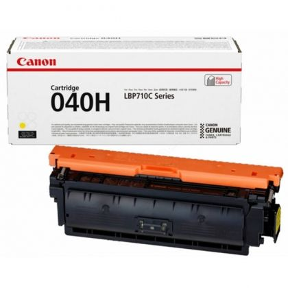 CANON Toner cartridge original Cart. CRG 040 H Y  imageCLASS LBP712Cdn/ i-SENSYS LBP710Cx/LBP712Cx/ Satera LBP712Ci yellow high capacity (0455C001) Cart. CRG 040 H Y  imageCLASS LBP712Cdn/ i-SENSYS LBP710Cx/LBP712Cx/ Satera LBP712Ci yellow high capacity (