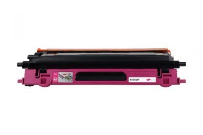 Brother Toner cartridge compatible TN-135M BROTHER HL-4040CN/4040CDN/4070CDW, MFC-9440CN/9450CDN/9840CN/9840CDW/9842CDW/9940CN, DCP-9040CN/9045CDN , Page yield  4000 , Magenta Color Type Reman TN-135M BROTHER HL-4040CN/4040CDN/4070CDW, MFC-9440CN/9450CDN/