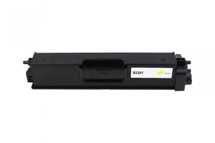 Brother Toner cartridge compatible TN-328Y BROTHER HL-4570CDW/4570CDWT, DCP-9270CDN, MFC-9970CDW , Page yield  6000 , Yellow Color Type Compatible TN-328Y BROTHER HL-4570CDW/4570CDWT, DCP-9270CDN, MFC-9970CDW , Page yield  6000 , Yellow Color Type Compati