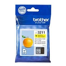 BROTHER Ink original Ink Cart. LC-3211Y  DCP-J572DW/J772DW/J774DW/ MFC-J491DW/J497DW/J890DW/ MFC-J895DW yellow Ink Cart. LC-3211Y  DCP-J572DW/J772DW/J774DW/ MFC-J491DW/J497DW/J890DW/ MFC-J895DW yellow