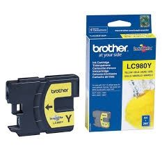 BROTHER Ink original Ink Cart. LC-980Y  DCP-145C/165C yellow Ink Cart. LC-980Y  DCP-145C/165C yellow