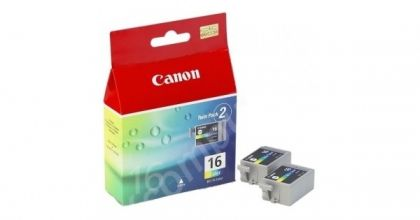 CANON Ink original Ink Cart. BCI-16C  Selphy DS700/IP90 mini220 3-colours (2 x Ink) (9818A002) Ink Cart. BCI-16C  Selphy DS700/IP90 mini220 3-colours (2 x Ink) (9818A002)