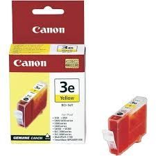 CANON Ink original Ink Cart. BCI-3eY  BJC-3000/6000/6100/6200/6500/ S-400/450/4500/500/600/i750/ 850/6300/MPC100/400/600/700/ 730 yellow (4482A002) Ink Cart. BCI-3eY  BJC-3000/6000/6100/6200/6500/ S-400/450/4500/500/600/i750/ 850/6300/MPC100/400/600/700/