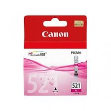CANON Ink original Ink Cart. CLI-521M  iP3600/4600/MP540/620/630/980 magenta (2935B001) Ink Cart. CLI-521M  iP3600/4600/MP540/620/630/980 magenta (2935B001)