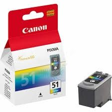 CANON Ink original Ink Cart. CL-51  MP150/MP160/MP170/MP180/MP450/ MP460/iP2200/iP6210D/iP6220D/ MX300/MX310 colour high capacity (0618B001) Ink Cart. CL-51  MP150/MP160/MP170/MP180/MP450/ MP460/iP2200/iP6210D/iP6220D/ MX300/MX310 colour high capacity (06