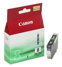 CANON Ink original Ink Cart. CLI-8 green  iP3300/4200/4300/5200/ 5200R/5300/6600/iX4000/5000/ 5200R/6700D/MP510/530/600/600R/ 810/830/Pro9000 green (0627B001) Ink Cart. CLI-8 green  iP3300/4200/4300/5200/ 5200R/5300/6600/iX4000/5000/ 5200R/6700D/MP510/530