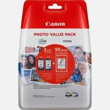 CANON Ink original Ink Cart.PG-545/CL-546 XL Multipack blistered  MG2450/MG2550 black/colour (8286B006) Ink Cart.PG-545/CL-546 XL Multipack blistered  MG2450/MG2550 black/colour (8286B006)