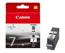CANON Ink original Ink Cart. PGI-7BK  MX7600 black (2444B001) Ink Cart. PGI-7BK  MX7600 black (2444B001)