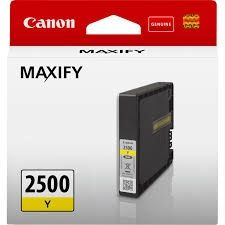 CANON Ink original Ink Cart. PGI-2500 Y  Maxify Series yellow standard capacity (9303B001) Ink Cart. PGI-2500 Y  Maxify Series yellow standard capacity (9303B001)