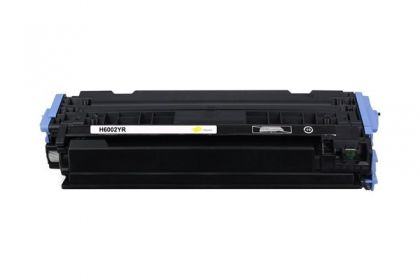 HP Toner cartridge compatible Q6002A HP Color LaserJet 2600N/1600/2605N/2605DN/2605DTN, CM1015 MFP/CM1017 MFP; Canon LBP 5000/5100  , Page yield  2000 , Yellow Color Type Reman Q6002A HP Color LaserJet 2600N/1600/2605N/2605DN/2605DTN, CM1015 MFP/CM1017 MF