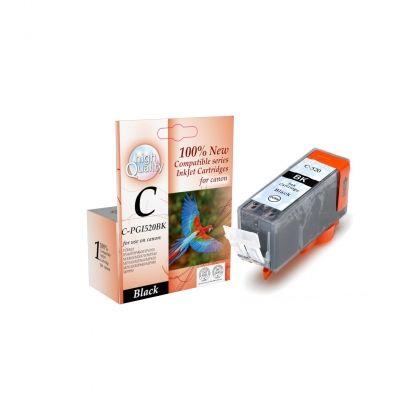 C-520BK,Canon,PIXMA MP540/MP550/MP560/MP620/MP630/MP640/MP980/MP990/MX860/MX870/IP3600/IP4600/IP4700 Black 21ml,,Page yield,19ml,Black,new