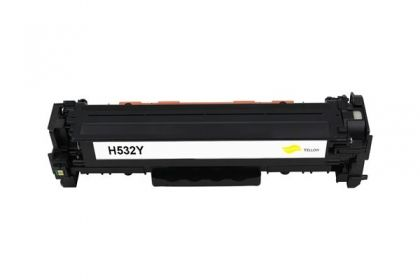 HP Toner cartridge compatible CC532A HP Color LaserJet CP2025/CP2025N/CP2025DN, CM2320/CM2320N MFP/CM2320NF MFP/CM2320FXI MFP , Page yield  2800 , Yellow Color Type Reman CC532A HP Color LaserJet CP2025/CP2025N/CP2025DN, CM2320/CM2320N MFP/CM2320NF MFP/CM