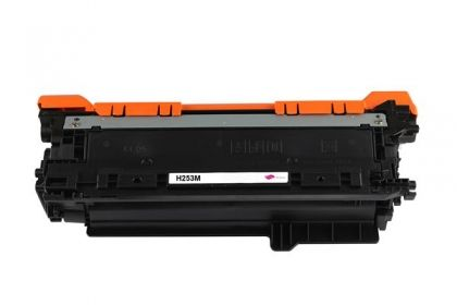 HP Toner cartridge compatible CE253A HP Color LaserJet CP3520/CP3525/CP3525X/CP3525DN/CP3525N/CP3530, CM3530/CM3530FS?  Canon i sensys LBP7750cdn  , Page yield  7000 , Magenta Color Type Reman CE253A HP Color LaserJet CP3520/CP3525/CP3525X/CP3525DN/CP3525