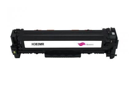 HP Toner cartridge compatible CF383A HP Color LaserJet Pro MFP M476nw/M476dn/M476dw , Page yield  2700 , Magenta Color Type Reman CF383A HP Color LaserJet Pro MFP M476nw/M476dn/M476dw , Page yield  2700 , Magenta Color Type Reman