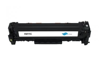 HP Toner cartridge compatible CE411A HP LaserJet Pro 300 Color M351a/MFP M375nw, HP LaserJet Pro 400 Color M451 series/MFP M475 series , Page yield  2600 , Cyan Color Type Reman CE411A HP LaserJet Pro 300 Color M351a/MFP M375nw, HP LaserJet Pro 400 Color
