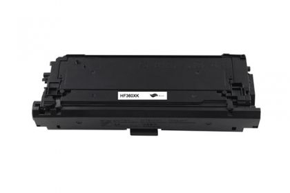 HP Toner cartridge compatible CF360X HP Color LaserJet Enterprise M552dn/M553dn/M553n/M553x/MFP M577 , Page yield  12500 , Black Color Type Reman CF360X HP Color LaserJet Enterprise M552dn/M553dn/M553n/M553x/MFP M577 , Page yield  12500 , Black Color Type