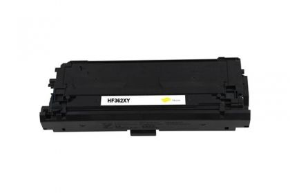 HP Toner cartridge compatible CF362X HP Color LaserJet Enterprise M552dn/M553dn/M553n/M553x/MFP M577 , Page yield  9500 , Yellow Color Type Reman CF362X HP Color LaserJet Enterprise M552dn/M553dn/M553n/M553x/MFP M577 , Page yield  9500 , Yellow Color Type