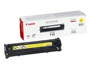 CANON Toner cartridge original Cart. 716  LBP5050/LBP5050n//MF80xxCn yellow (1977B002) Cart. 716  LBP5050/LBP5050n//MF80xxCn yellow (1977B002)