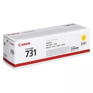 CANON Toner cartridge original Cart. 731 Y  LBP7100/7110/8230/8280 yellow (6269B002) Cart. 731 Y  LBP7100/7110/8230/8280 yellow (6269B002)