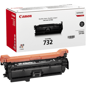 CANON Toner cartridge original Cart. 732 BK  LBP7780 black (6263B002) Cart. 732 BK  LBP7780 black (6263B002)