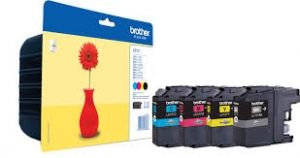 BROTHER Ink original Ink Cart. LC-121VALBPDR Value Pack  MFC-J470DW/-J650DW/-J870DW/ DCP-J752DW/-552DW/-J132W/ -J152W (bk/c/m/y) Ink Cart. LC-121VALBPDR Value Pack  MFC-J470DW/-J650DW/-J870DW/ DCP-J752DW/-552DW/-J132W/ -J152W (bk/c/m/y)