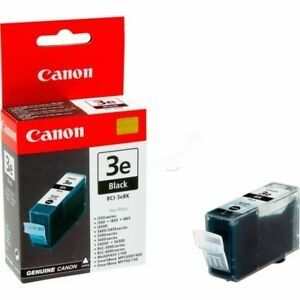 CANON Ink original Ink Cart. BCI-3eBK  BJC-3000/6000/6100/6200/ 6500/S-400/450/4500/500/600// i-560/750/850/865/6300/MPC100/ 400/600/700/730/750/780// iP3000/4000/5000 black (4479A002) Ink Cart. BCI-3eBK  BJC-3000/6000/6100/6200/ 6500/S-400/450/4500/500/6