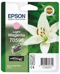 EPSON Ink original Ink Cart. C13T05964010  Stylus Photo R2400 light magenta Ink Cart. C13T05964010  Stylus Photo R2400 light magenta