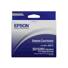 EPSON Ribbon original Ribbon C13S015262  LQ-670/680/860/1060/2500/2550 black (S015016) Ribbon C13S015262  LQ-670/680/860/1060/2500/2550 black (S015016)