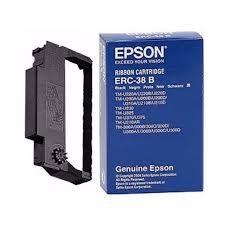 EPSON Ribbon original Ribbon ERC-38B  TM-U200/210/220/230/300/375 black (C43S015374) Ribbon ERC-38B  TM-U200/210/220/230/300/375 black (C43S015374)