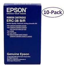EPSON Ribbon original Ribbon ERC-38B/R  TM300/U-300/210D/220/230 black/red (C43S015376) Ribbon ERC-38B/R  TM300/U-300/210D/220/230 black/red (C43S015376)