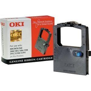 OKI Ribbon original Ribbon ML 380/385/390/391/ 3390/3391 black(09002309) Ribbon ML 380/385/390/391/ 3390/3391 black(09002309)