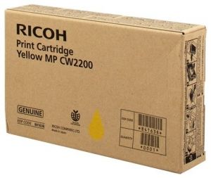 RICOH Gel ink original Gel Cart.  MPC W2200SP yellow (841638) Gel Cart.  MPC W2200SP yellow (841638)