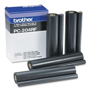 BROTHER  Refill Rolls PC-204RF  Fax 1010/1010e/1010plus/ 1020/1030/1030e/1030plus/ MFC-1025 (4 Rolls) Refill Rolls PC-204RF  Fax 1010/1010e/1010plus/ 1020/1030/1030e/1030plus/ MFC-1025 (4 Rolls)