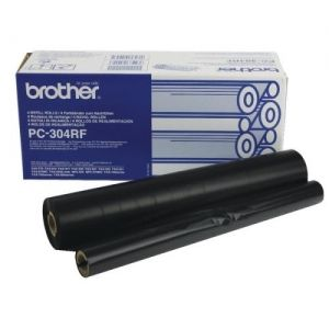 BROTHER  Refill Rolls PC-304RF  Fax 910/917/920/930/940 E-mail (4 Rolls) Refill Rolls PC-304RF  Fax 910/917/920/930/940 E-mail (4 Rolls)