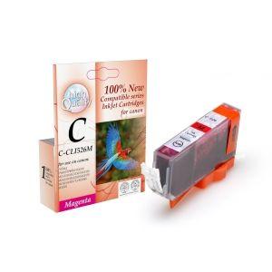 CLI-526M ,Canon,PIXMAIP4850/IX6550/MG5150/MG5250/MG6150/MG8150/MX885 Mag. 10.5ml,,Page yield,10.5ml,Magenta,new