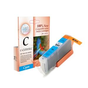 CLI-551XLC,Canon,PIXMA MG5450/6350,PIXMA Ip7250PIXMA MX925  Cyan 12ml,,Page yield,12ml,Cyan,new