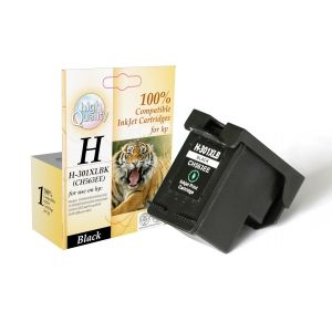 CH563EE, HP Inkjet cartridge compatible CH563EE 301B XL/CH563EE Black 18ml Black 18ml Deskjet 1000/1050/2000/2050/2510/2540/3050/3510/3540 ,Page yield 18ml/400  Pages Black new