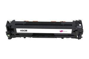HP Toner cartridge compatible CB543A HP Color LaserJet CP1215/CP1515N/CP1518NI; HP CM1312/CM1312NFI, Canon i-SENSYS LBP 5050, MF 8050CN/8030CN/8080CW/8040CN , Page yield  1400 , Magenta Color Type Reman CB543A HP Color LaserJet CP1215/CP1515N/CP1518NI; HP